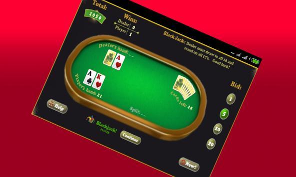 Play Blackjack Game poster