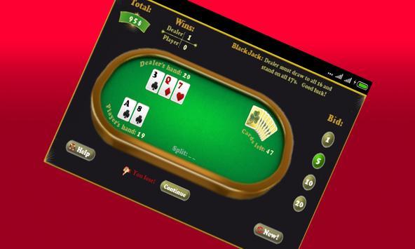 Play Blackjack Game screenshot 2