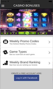 Casino Bonuses and Promotions screenshot 2