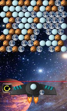 bubble shooter in space poster