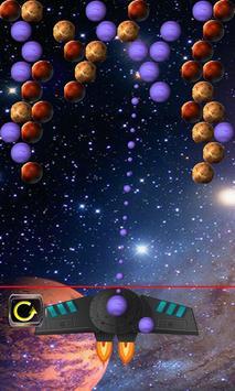 bubble shooter in space screenshot 1