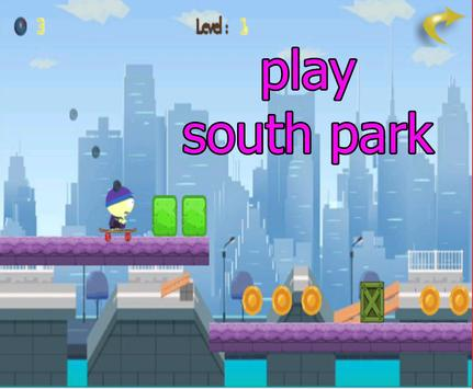 South parkk hoopping poster
