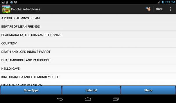 Panchatantra Stories Book apk screenshot
