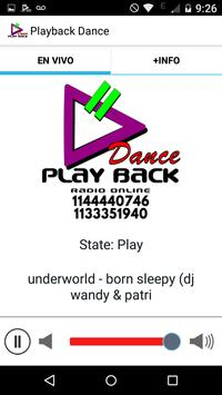 Playback Dance screenshot 1