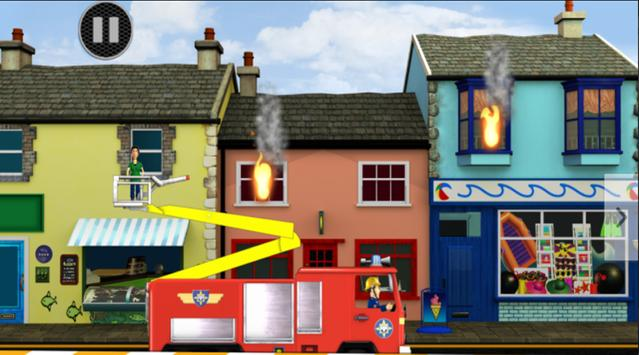 Fireman Game Sam Rescue poster