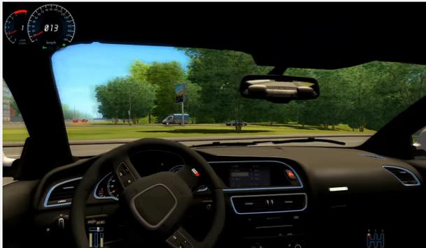 City Car driving school screenshot 1