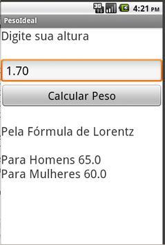 Peso Ideal Lorentz screenshot 2