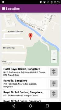 Royal Orchid Hotels apk screenshot