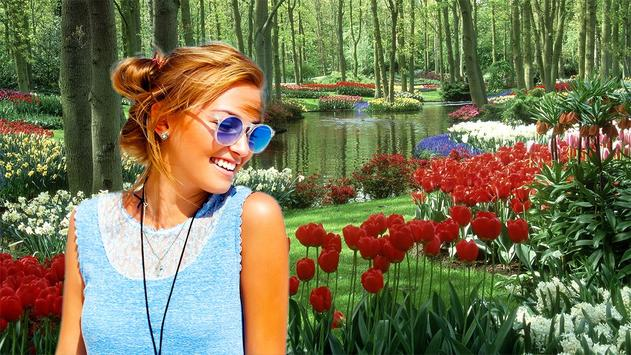 Garden Photo Frames apk screenshot