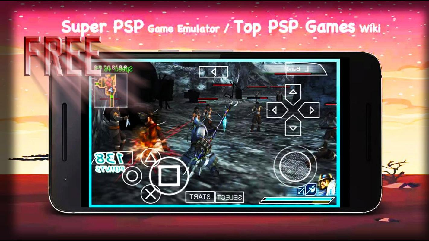 how to get games for psp emulator