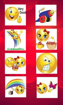 Romantic stickers for chat screenshot 1