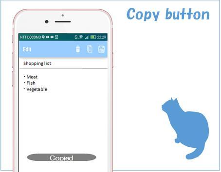 Notepad~free~ screenshot 2