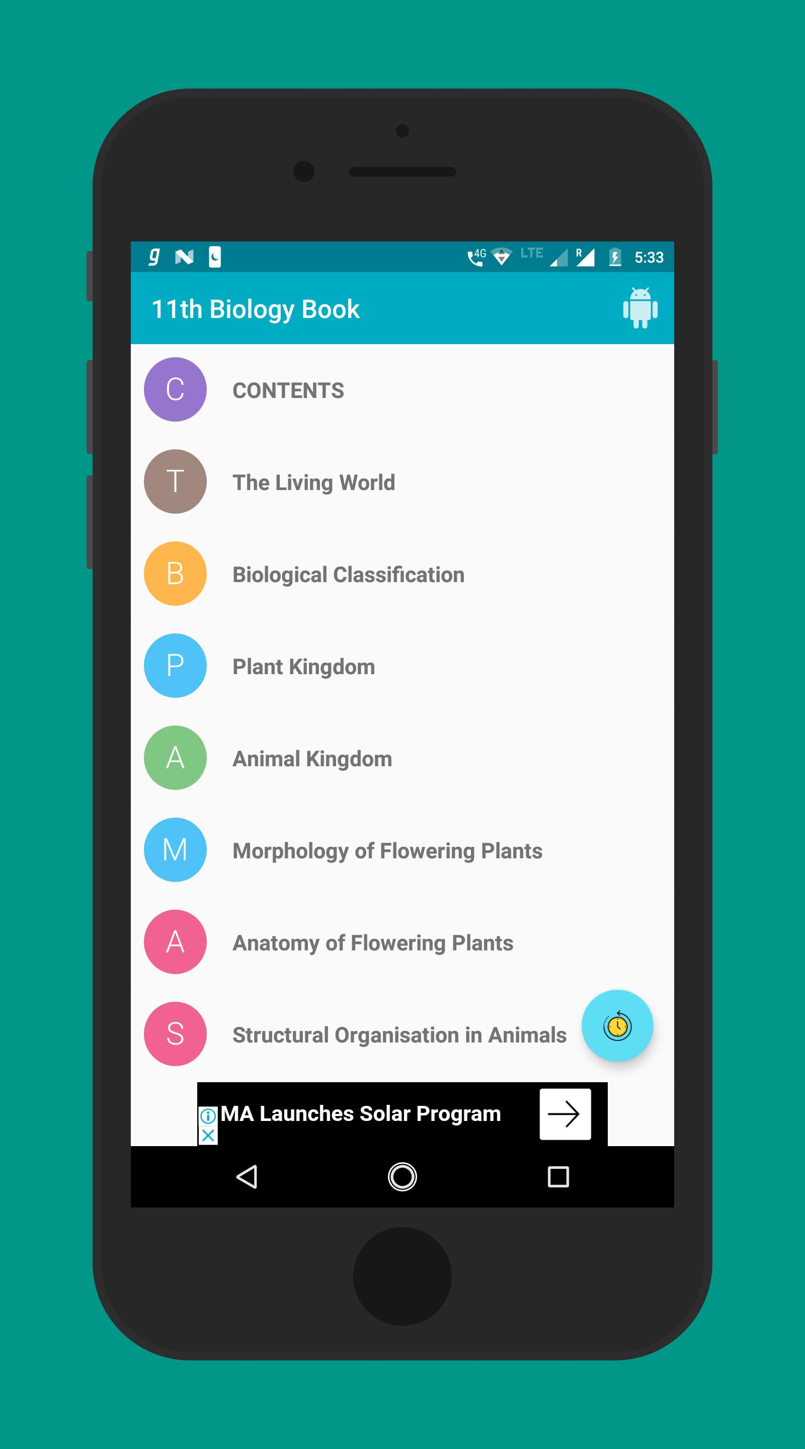 11th NCERT Biology Textbook for Android - APK Download