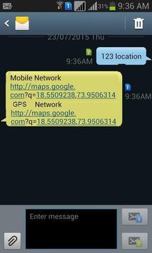 Zeroinon SMS based Tracking apk screenshot