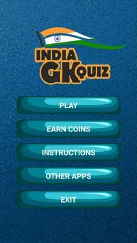 India GK Quiz poster