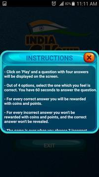 India GK Quiz screenshot 1