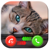 My Cat Fake Video Call Prank icon