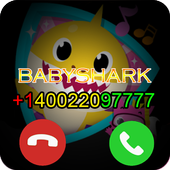 Prank Baby Fake Call Shark icon