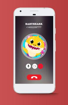 Prank Baby Fake Call Shark poster