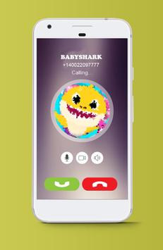 Prank Baby Fake Call Shark apk screenshot
