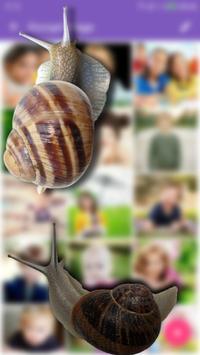 Snail in Phone best joke apk screenshot