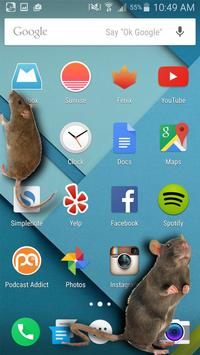 Mouse on Screen Scary Joke apk screenshot