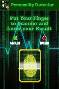 Personality Detector Prank poster