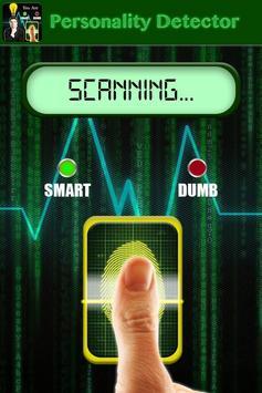 Personality Detector Prank apk screenshot