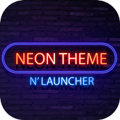 Neon Theme and Launcher 2018 icon