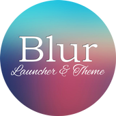 Blur Theme and Launcher 2017 icon