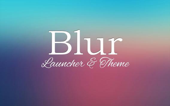 Blur Theme and Launcher 2017 apk screenshot