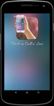 Flash On Call and Sms poster