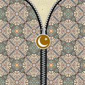Islamic Texture Zipper Screen icon