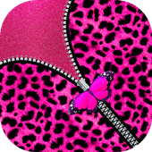 Pink Girly Leopard Screen icon