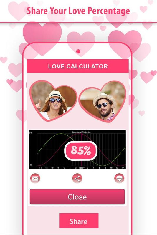 calculate love percentage online