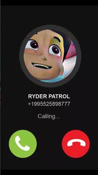 Ryder Patrol Calls Your Kids poster