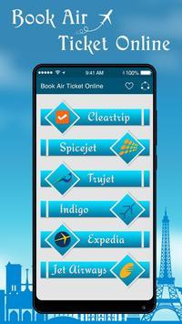Online Flight Ticket Booking : Air Ticket Booking poster