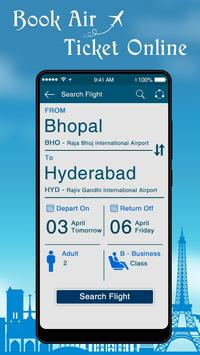 Online Flight Ticket Booking : Air Ticket Booking screenshot 1