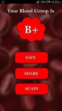 Blood Group Checker Prank screenshot 4