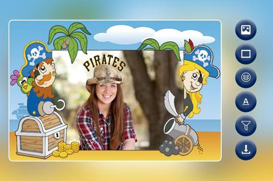 Pirates Photo Frame apk screenshot