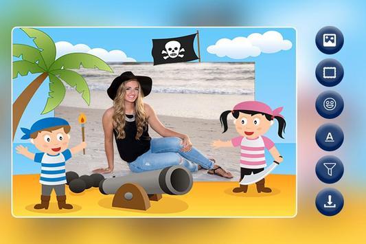 Pirates Photo Frame poster