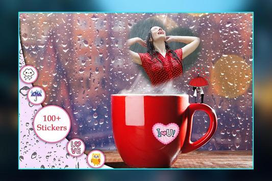 Rain Photo Frame apk screenshot