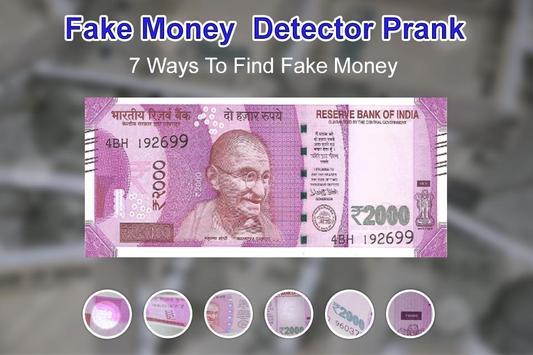 Fake Money Detector Prank screenshot 3