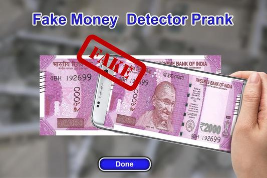 Fake Money Detector Prank screenshot 2