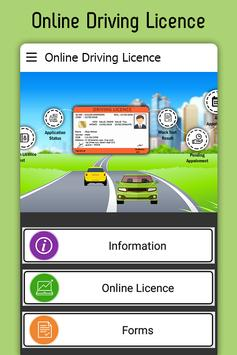 Online Driving License Apply – RTO Vehicle Info poster