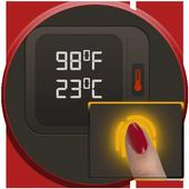 Body Temperature Checker Prank icon