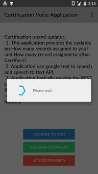 Certification Updater apk screenshot