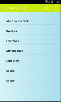 Francis Crick screenshot 1