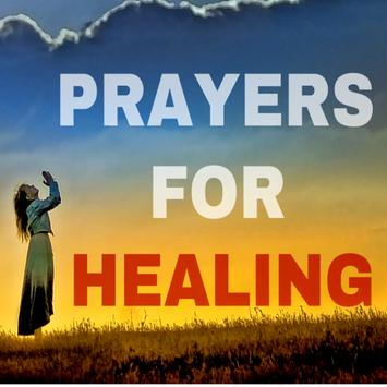 Prayer for healing poster