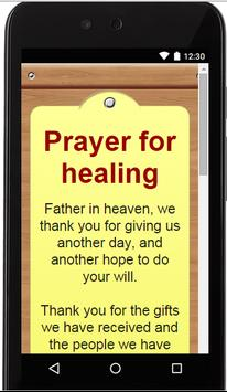 Prayer for healing apk screenshot